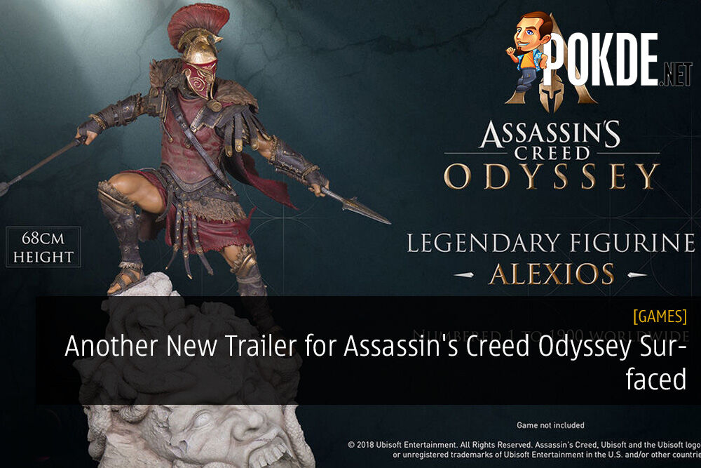 Another New Trailer for Assassin's Creed Odyssey Surfaced - Alexios Legendary Figurine Announced 22