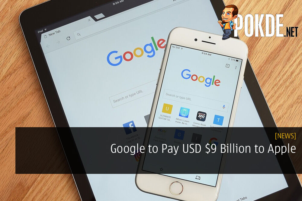 Google to Pay USD $9 Billion to Apple search engine