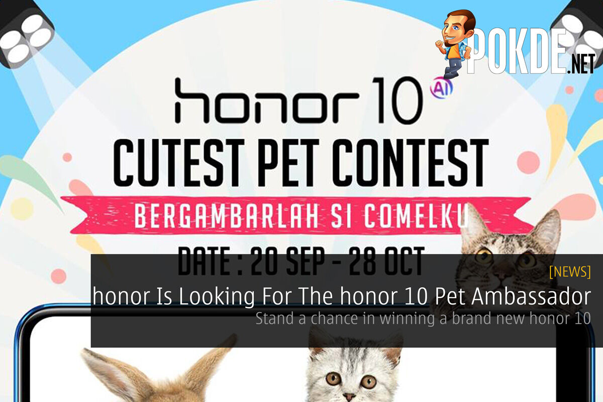 honor Is Looking For The honor 10 Pet Ambassador — Stand a chance in winning a brand new honor 10 23