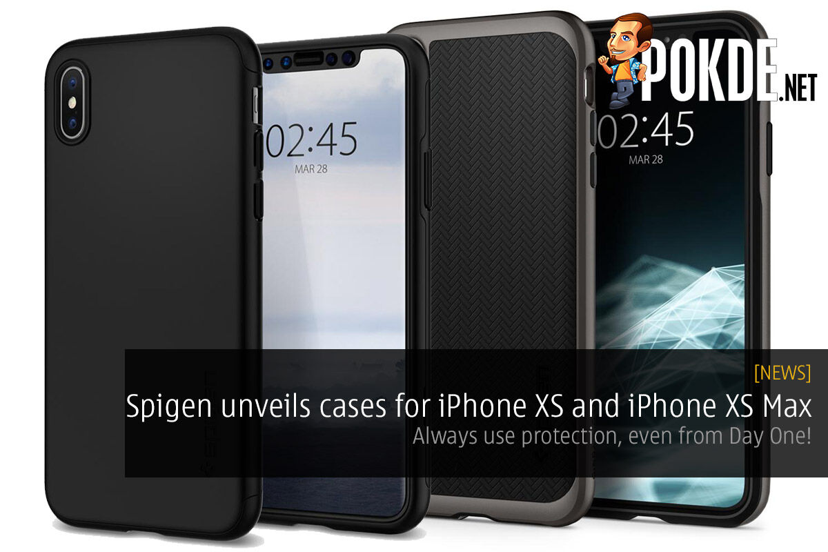 Spigen unveils cases for iPhone XS and iPhone XS Max — always use protection, even from Day One! 27
