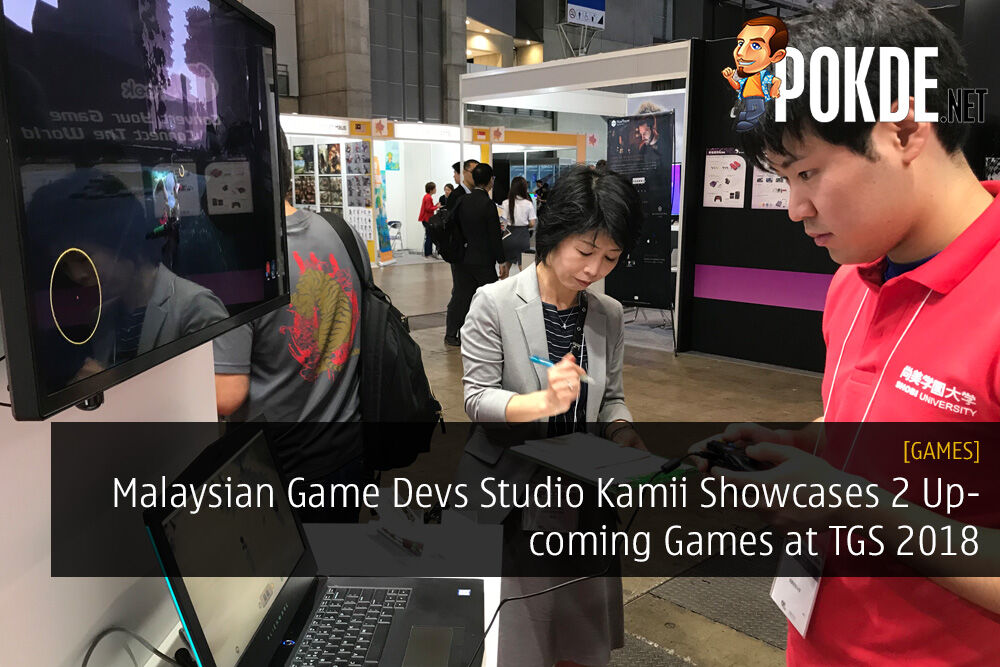 [TGS 2018] Malaysian Game Developers Studio Kamii Showcases 2 Upcoming Games 27