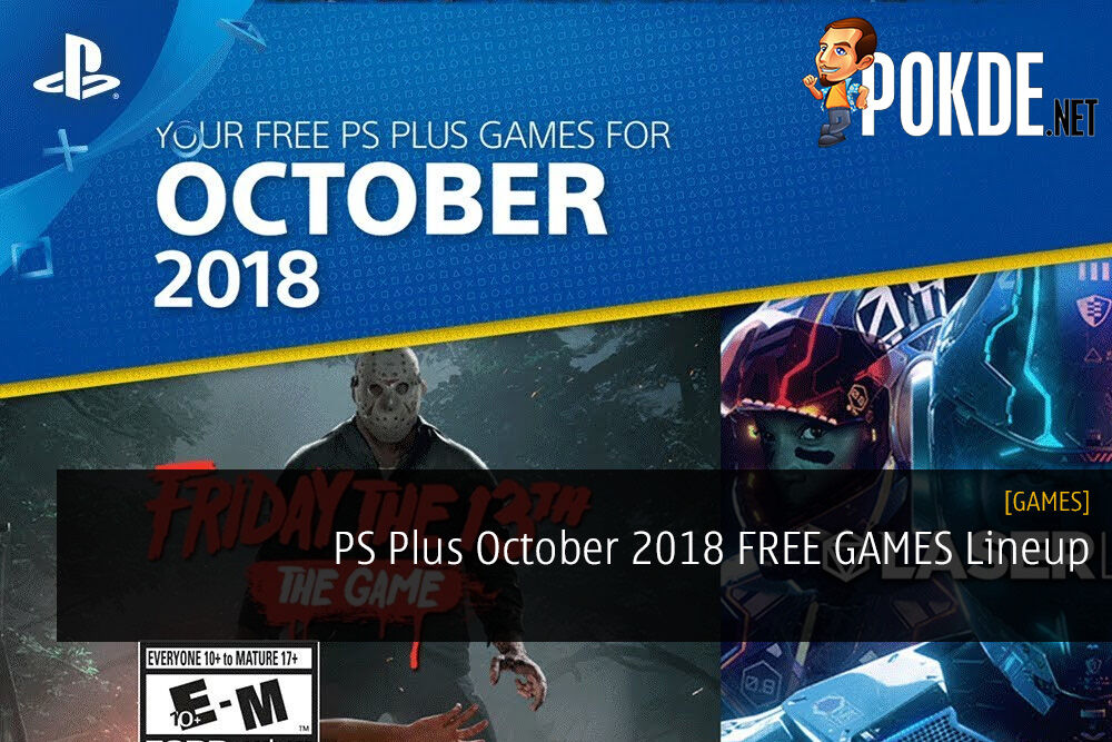 PS Plus October 2018 FREE GAMES Lineup - Friday the 13th Leads the Fray 28