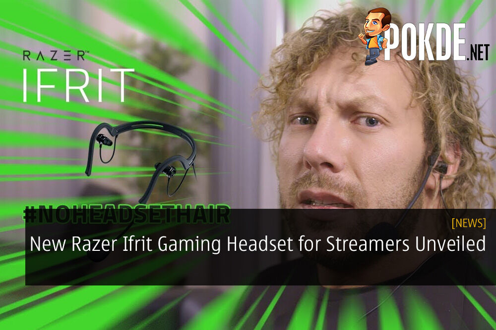New Razer Ifrit Gaming Headset for Streamers Unveiled - Featuring NJPW's Kenny Omega