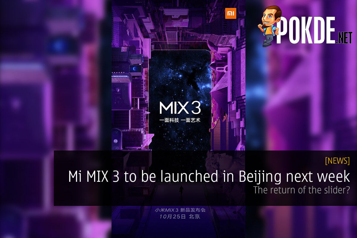 Mi MIX 3 to be launched in Beijing next week — the return of the slider? 19