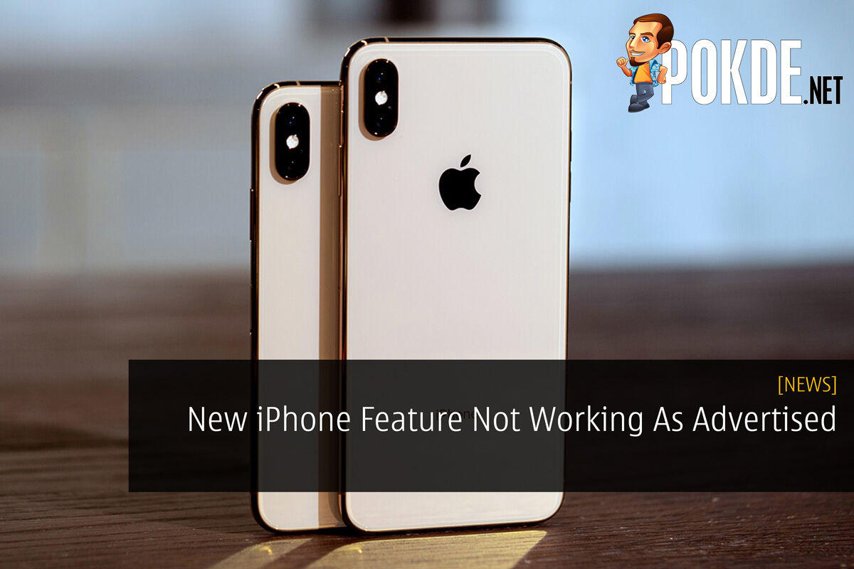 New iPhone Feature Not Working As Advertised 24