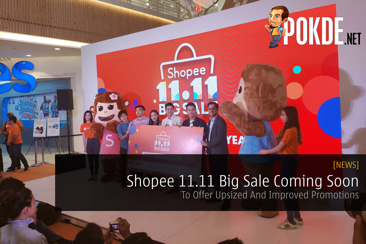Shopee 11.11 Big Sale Coming Soon — To Offer Upsized And Improved Promotions 27
