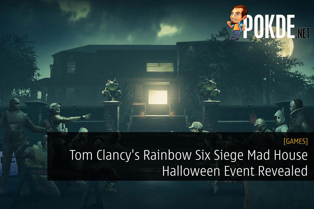 Tom Clancy's Rainbow Six Siege Mad House Halloween Event Revealed 30