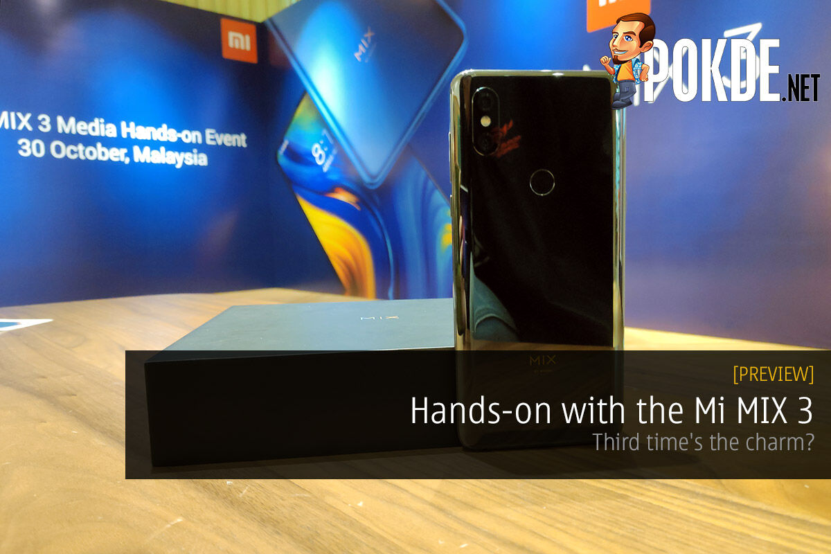 Hands-on with the Mi MIX 3 — third time's the charm? 29