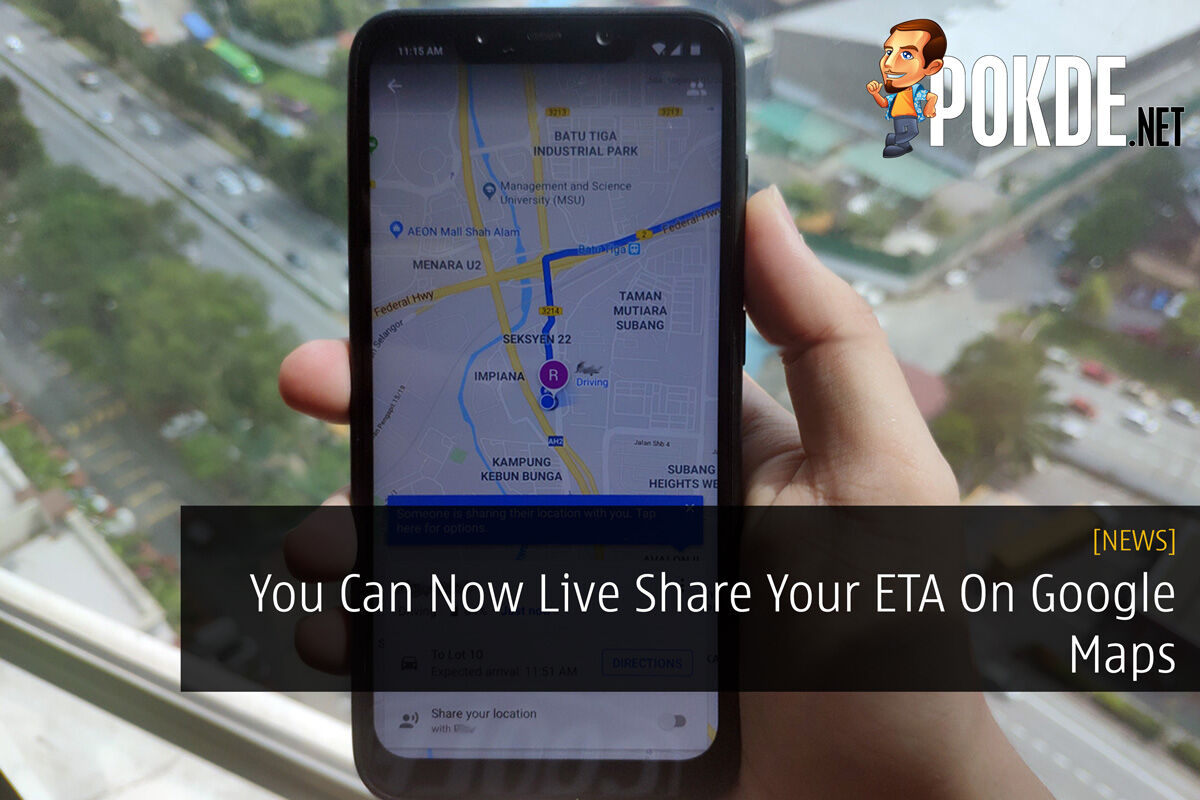 You Can Now Live Share Your ETA On Google Maps 22