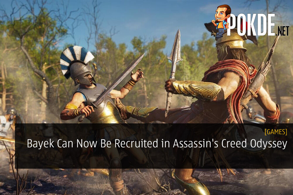 Bayek Can Now Be Recruited in Assassin's Creed Odyssey