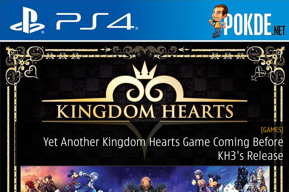 the story so far Yet Another Kingdom Hearts Game Coming Before KH3's Release