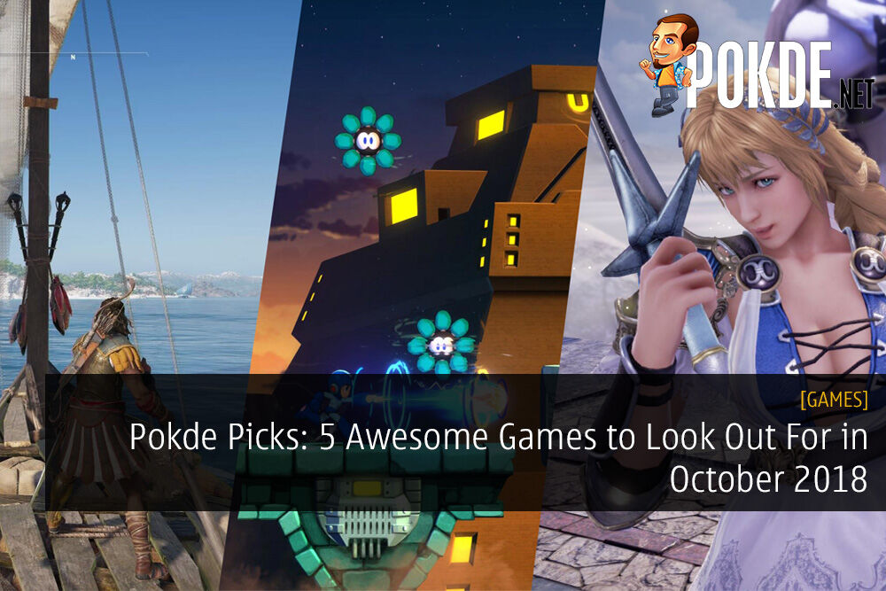 Pokde Picks: 5 Awesome Games to Look Out For in October 2018