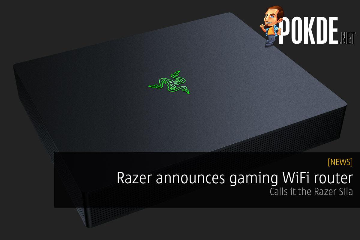 Razer announces gaming WiFi router — calls it the Razer Sila 31
