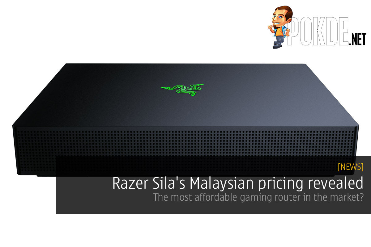 Razer Sila Malaysian pricing revealed — the most affordable gaming router in the market? 25