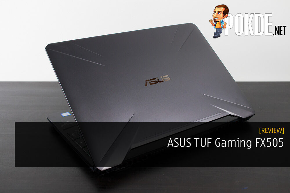 Unboxing the ASUS TUF Gaming FX505 Gaming Laptop