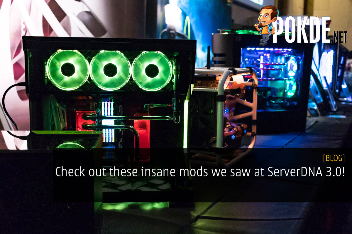 Check out these insane mods we saw at ServerDNA 3.0! 25