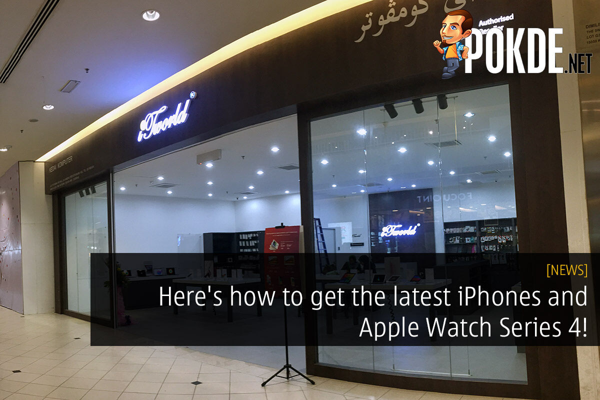 Here's how to get the latest iPhones and Apple Watch Series 4! 34