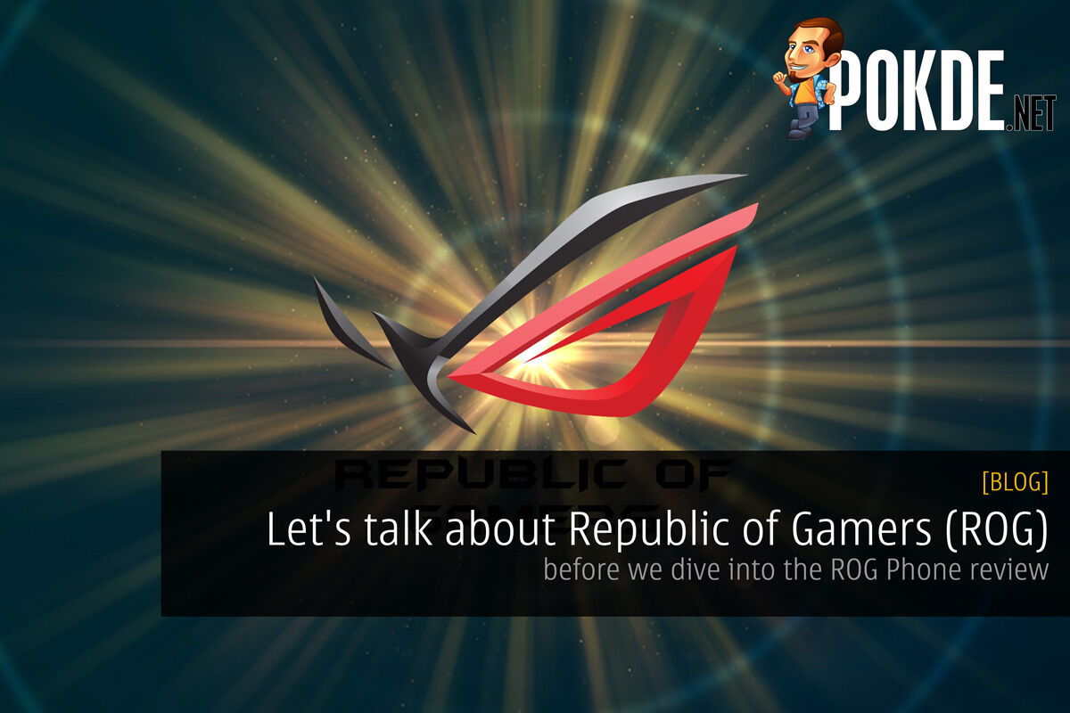 Let's talk about Republic of Gamers (ROG) - before we dive into the ROG Phone review 17