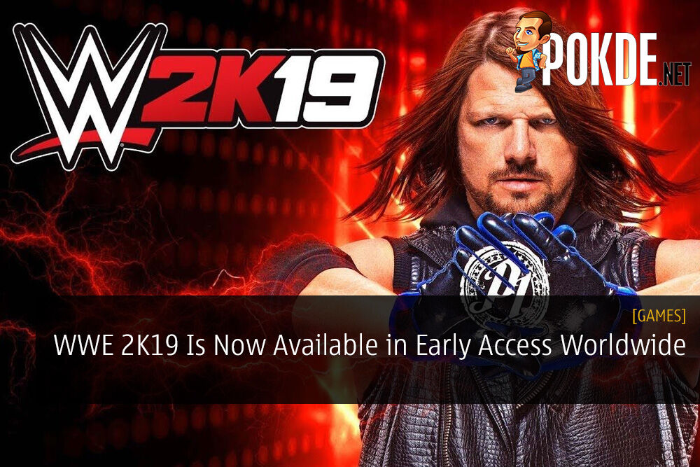 WWE 2K19 Is Now Available in Early Access Worldwide