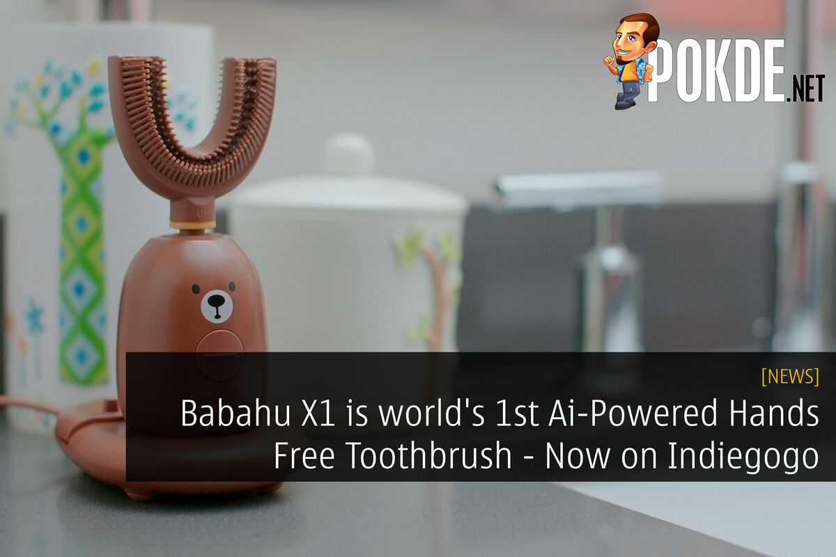 Babahu X1 is world's 1st Ai-Powered Hands Free Toothbrush - Launching on Indiegogo Now 21