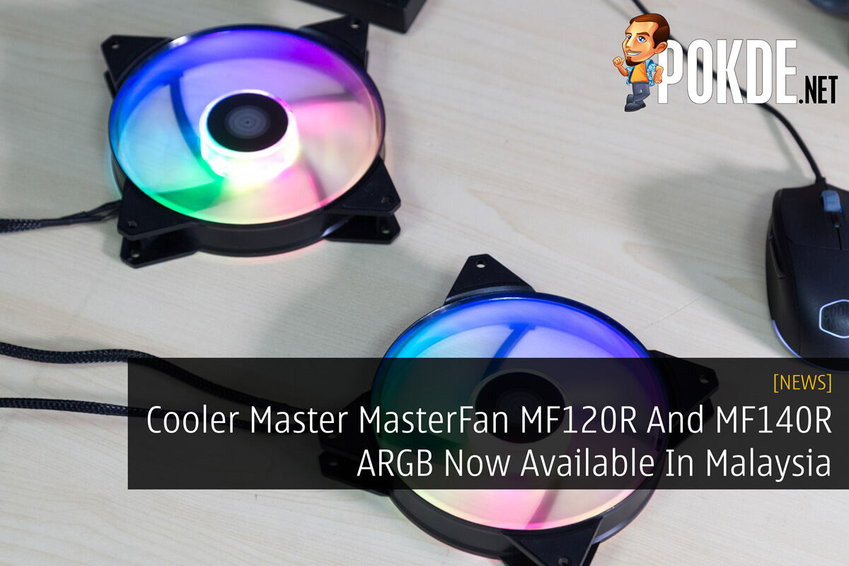 Cooler Master MasterFan MF120R And MF140R ARGB Now Available In Malaysia 22