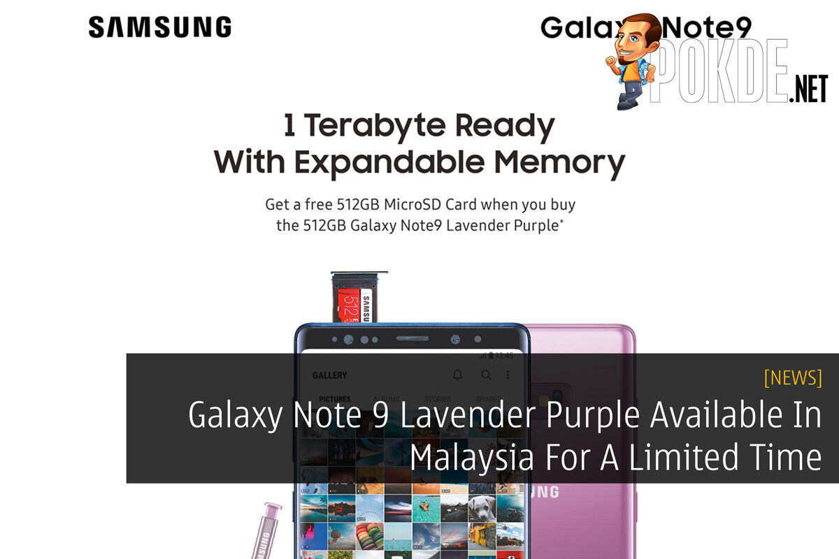 Galaxy Note 9 Lavender Purple Available In Malaysia For A Limited Time 26