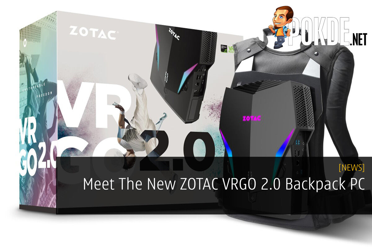 Meet The New ZOTAC VRGO 2.0 Backpack PC 16