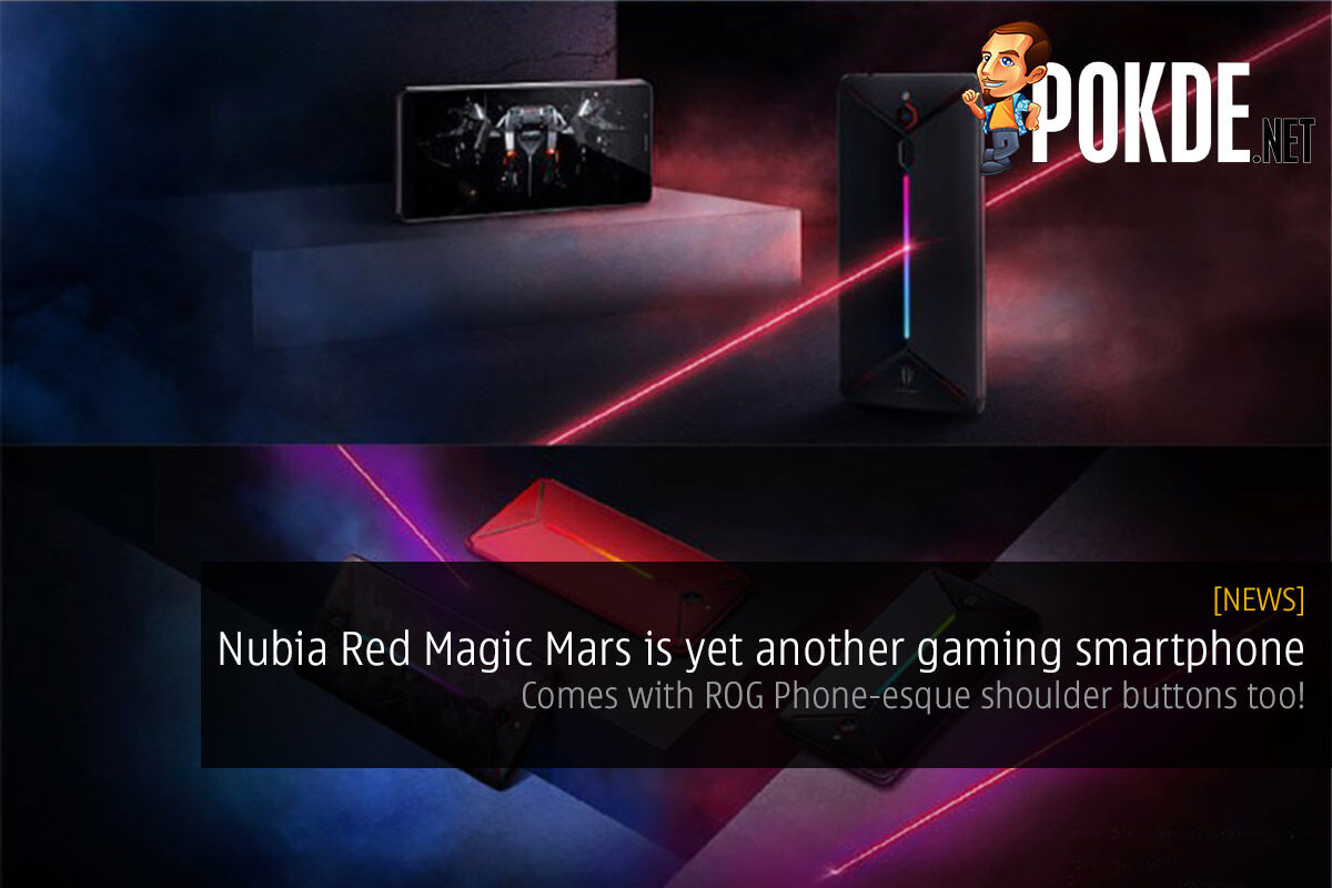 Nubia Red Magic Mars is yet another gaming smartphone — comes with ROG Phone-esque shoulder buttons too! 26