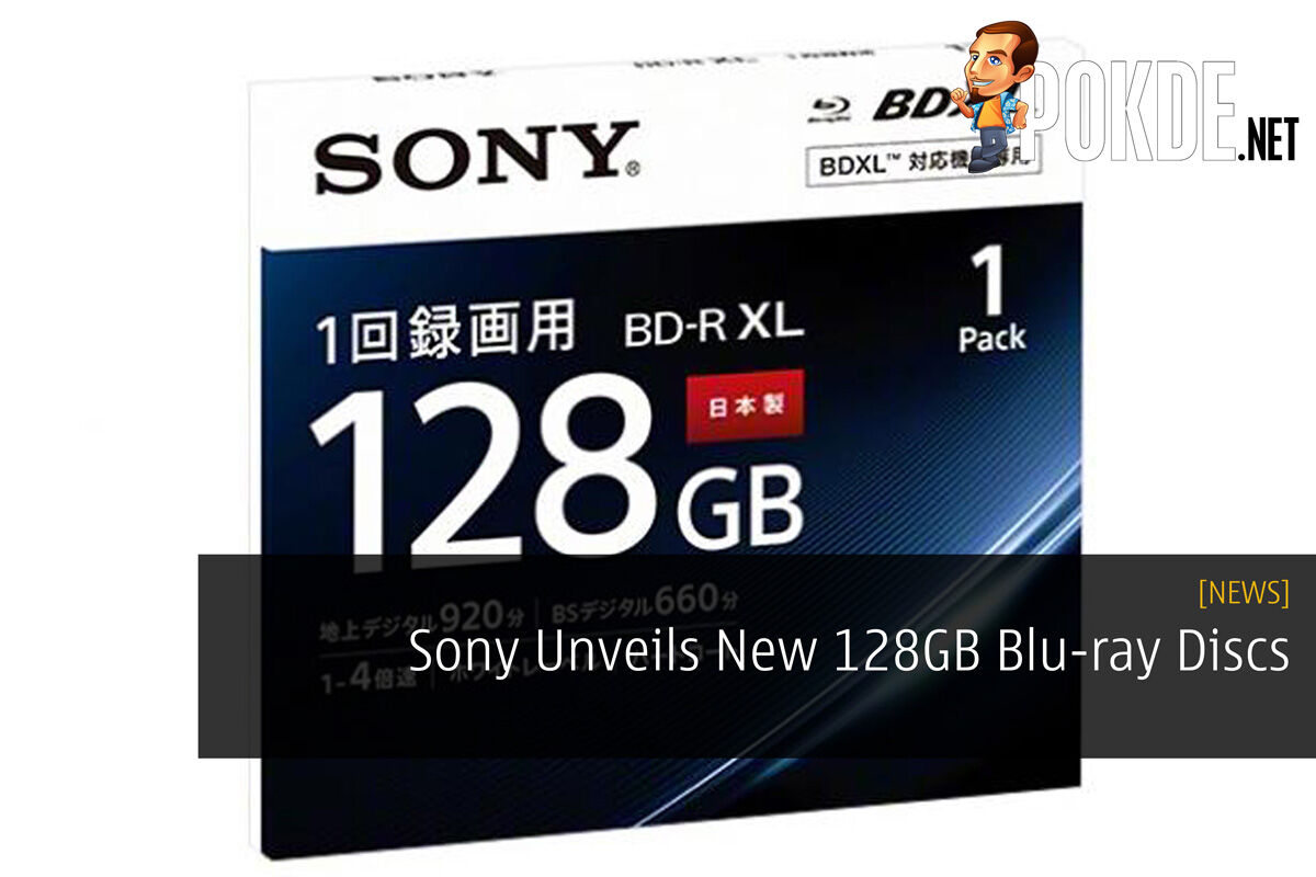 Sony Unveils New 128GB Blu-ray Discs 26