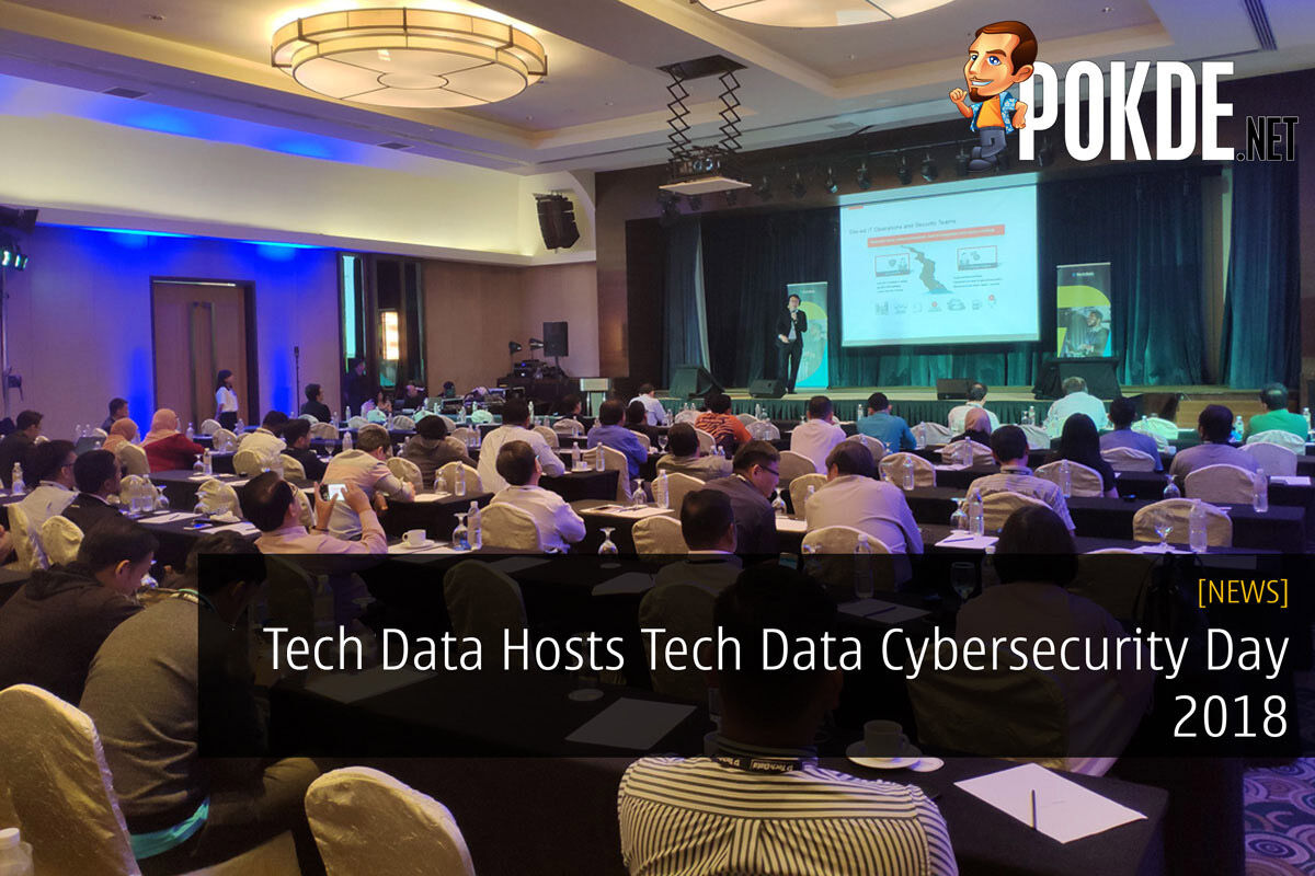 Tech Data Hosts Tech Data Cybersecurity Day 2018 17