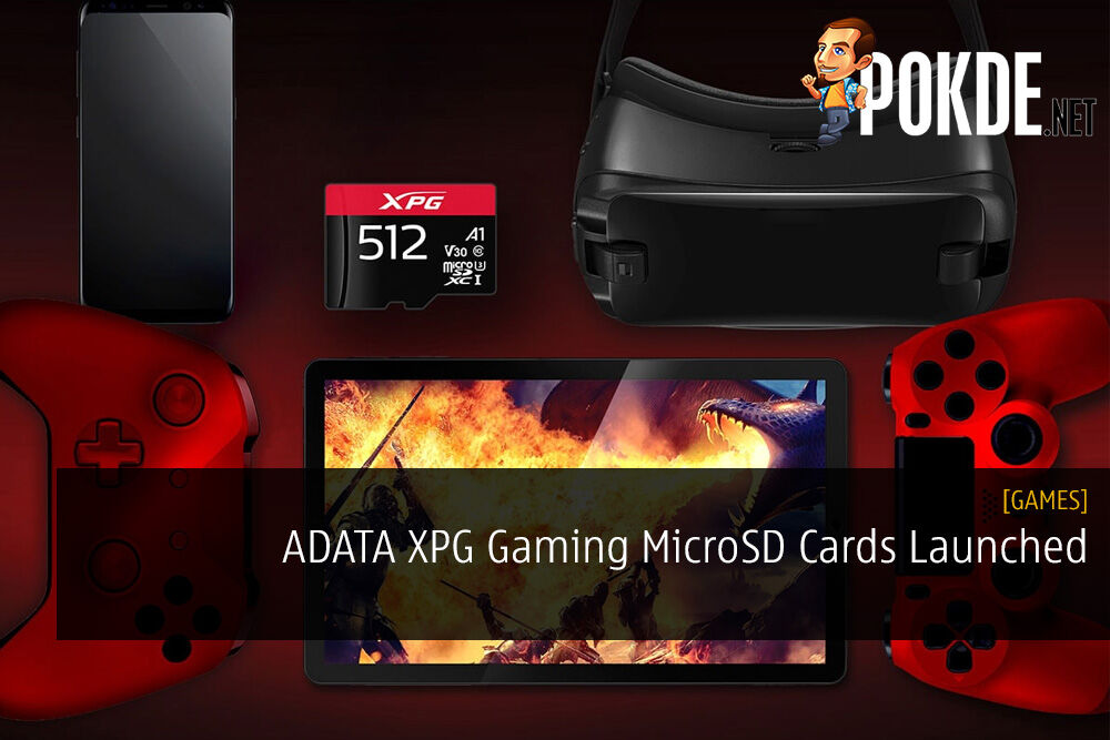 ADATA XPG Gaming MicroSD Cards Launched - App Performance Class 1 Standard 22