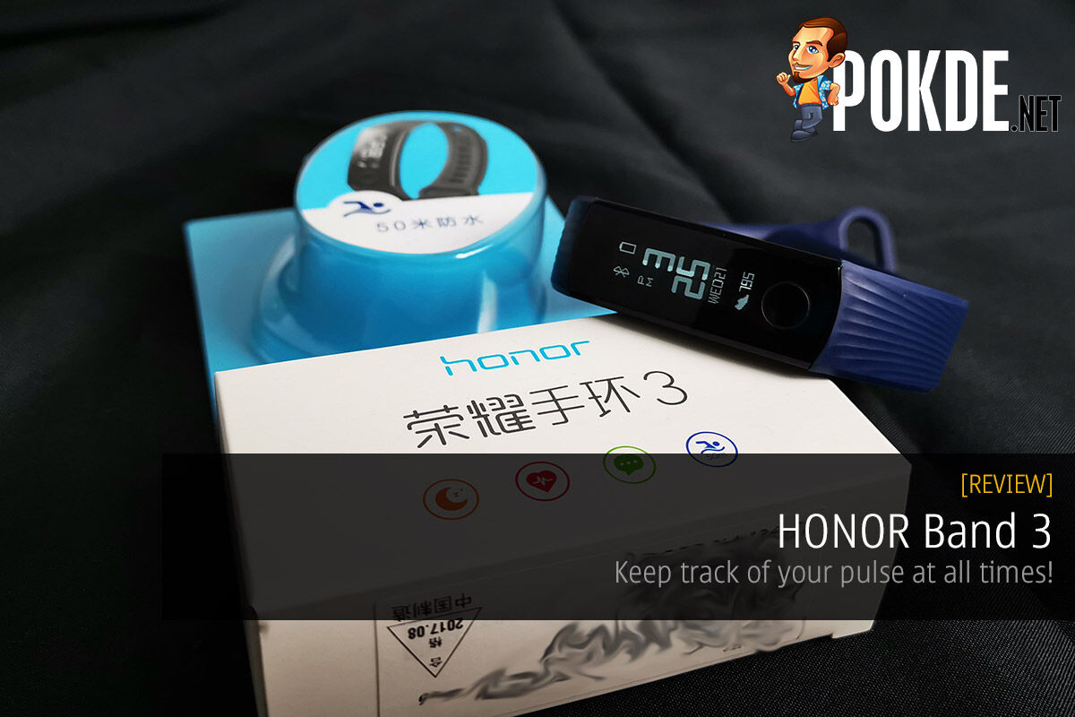 HONOR Band 3 review — keep track of your pulse at all times! 34