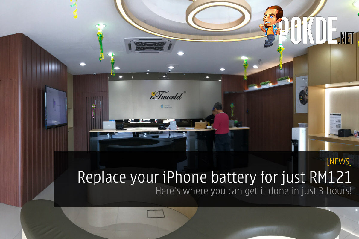 Replace your iPhone battery for just RM121 — here's where you can get it done in just 3 hours! 31
