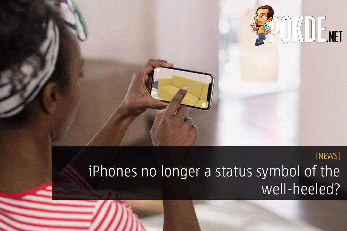 iPhones no longer a status symbol of the well-heeled? 34
