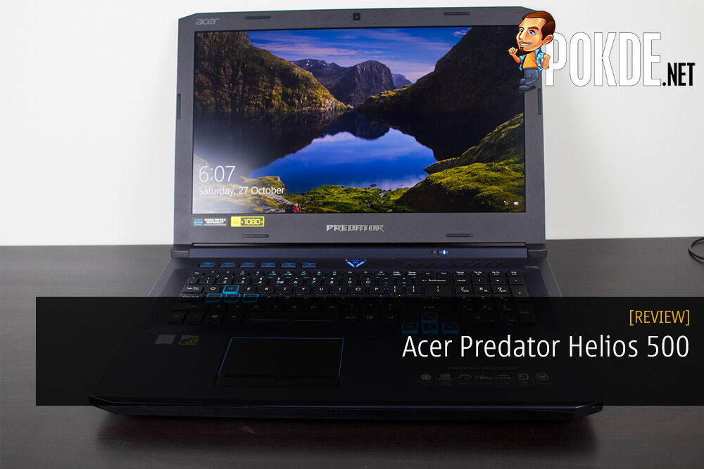 Acer Predator Helios 500 Gaming Laptop Review - Monster Among Machines 20