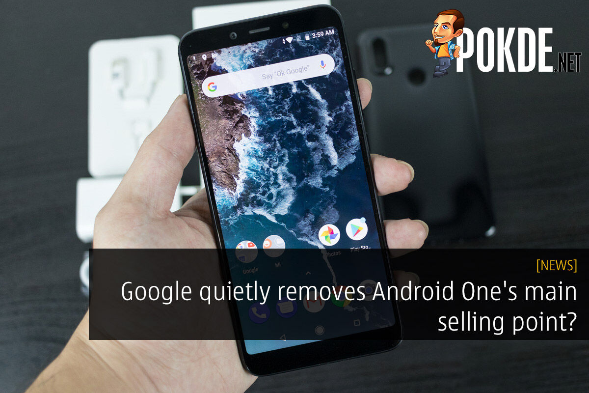 Google quietly removes Android One's main selling point? 22