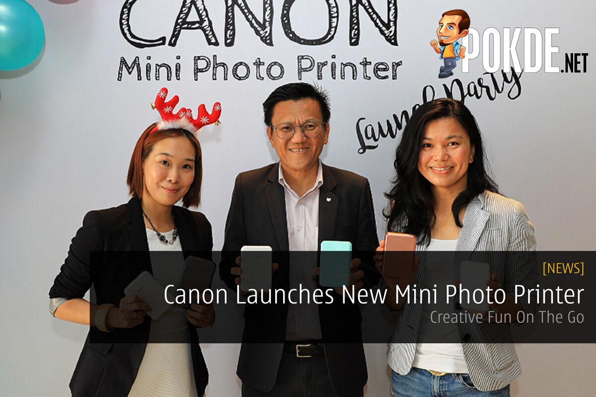 Canon Launches New Mini Photo Printer — Creative Fun On The Go 23