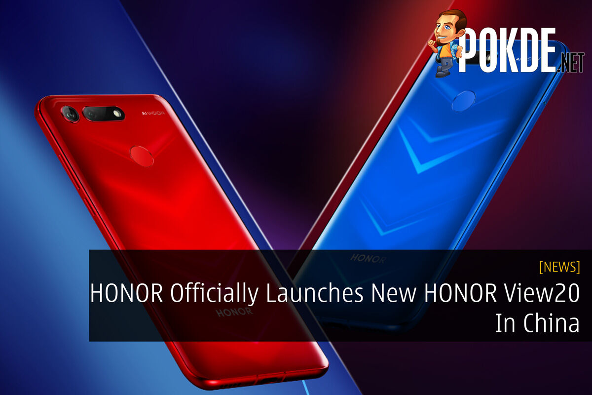 HONOR Officially Launches New HONOR View20 In China 35
