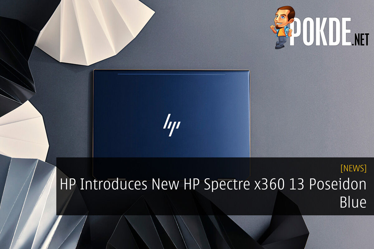 HP Introduces New HP Spectre x360 13 Poseidon Blue 32