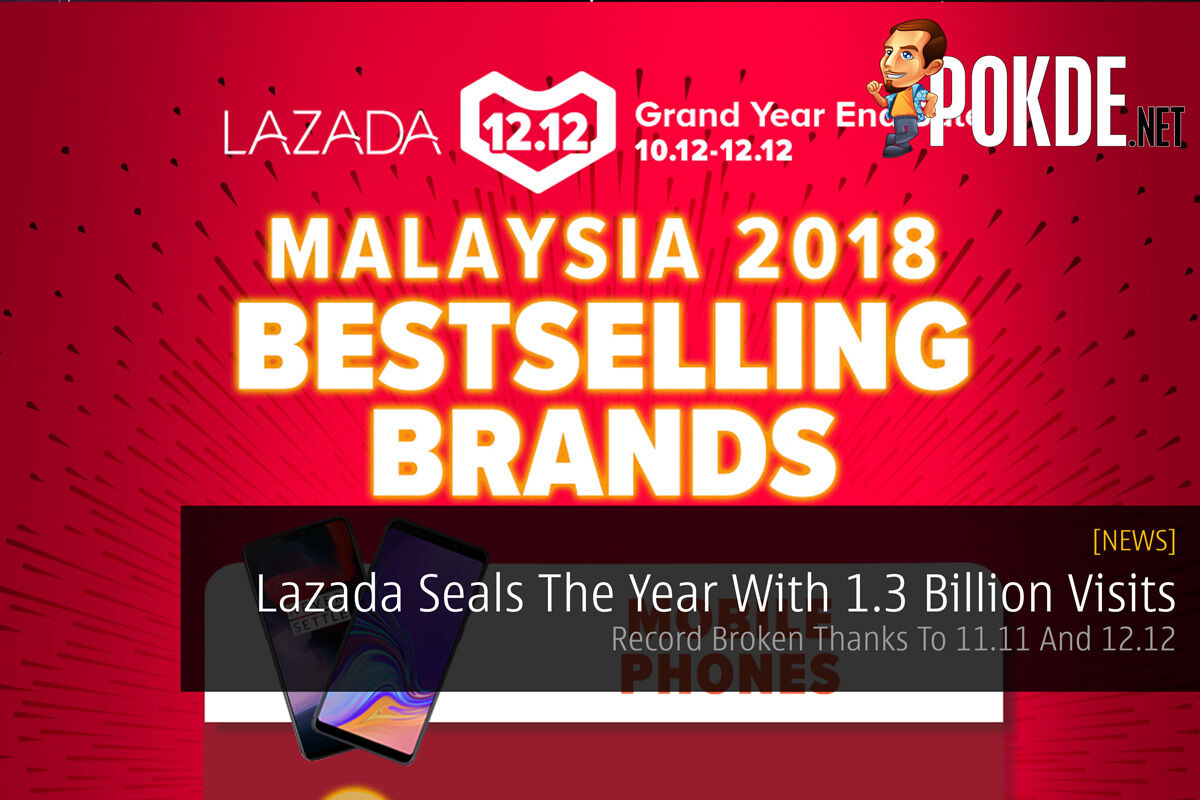 Lazada Seals The Year With 1.3 Billion Visits — Record Broken Thanks To 11.11 And 12.12 30