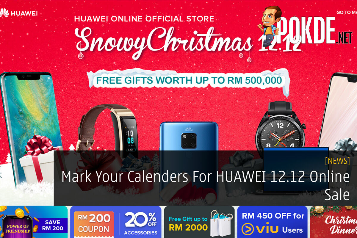 Mark Your Calenders For HUAWEI 12.12 Online Sale 23