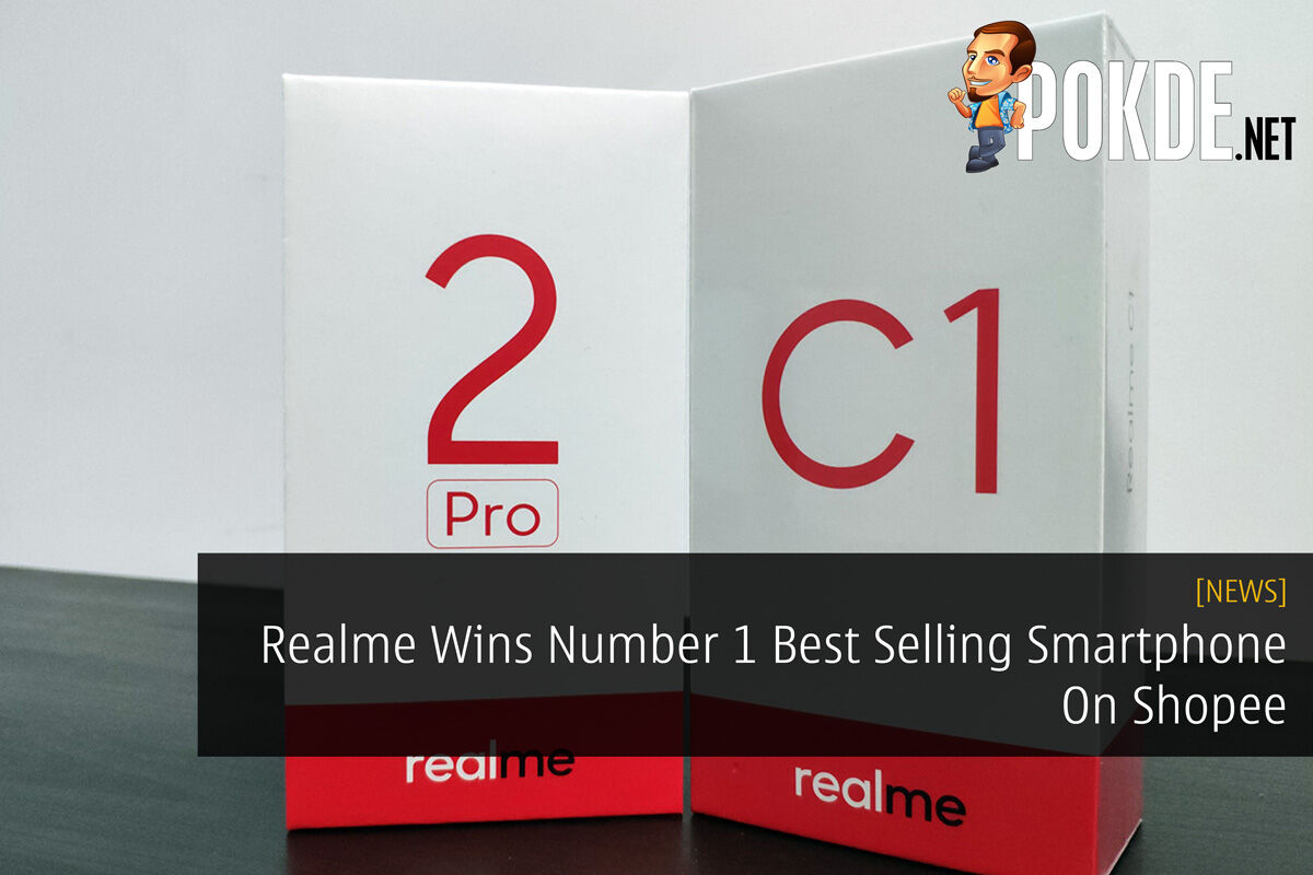 Realme Wins Number 1 Best Selling Smartphone On Shopee 30