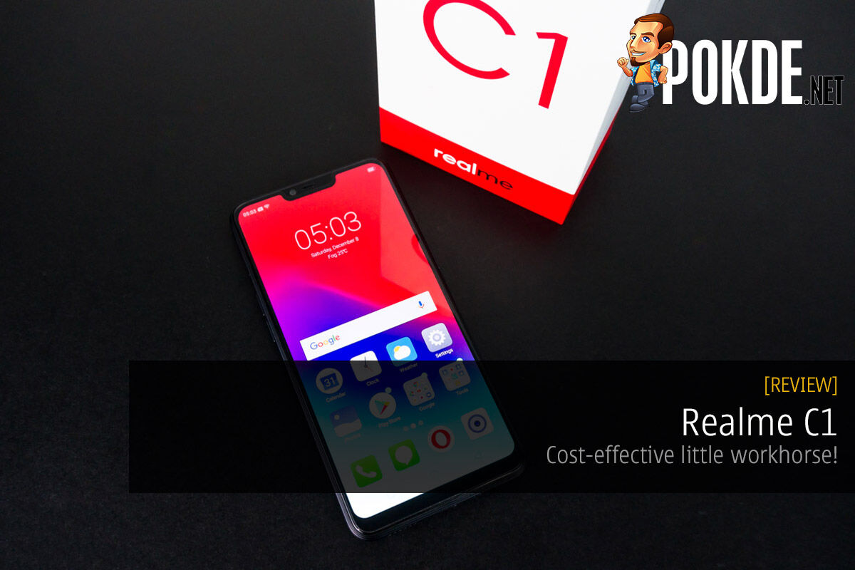 Realme C1 review — cost-effective little workhorse! 32