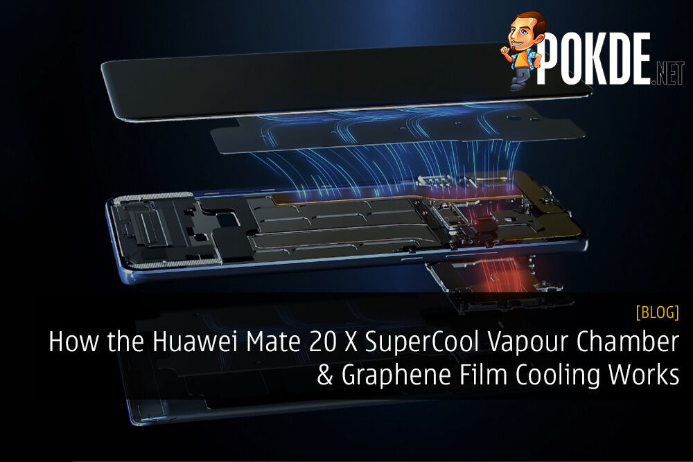 How the Huawei Mate 20 X SuperCool Vapour Chamber and Graphene Film Cooling Works
