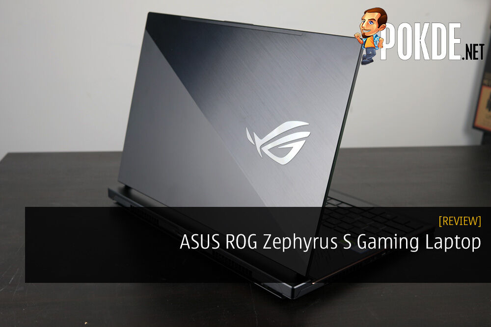 ASUS ROG Zephyrus S Gaming Laptop Review - It Sounds Bigger Than It Actually Is 21