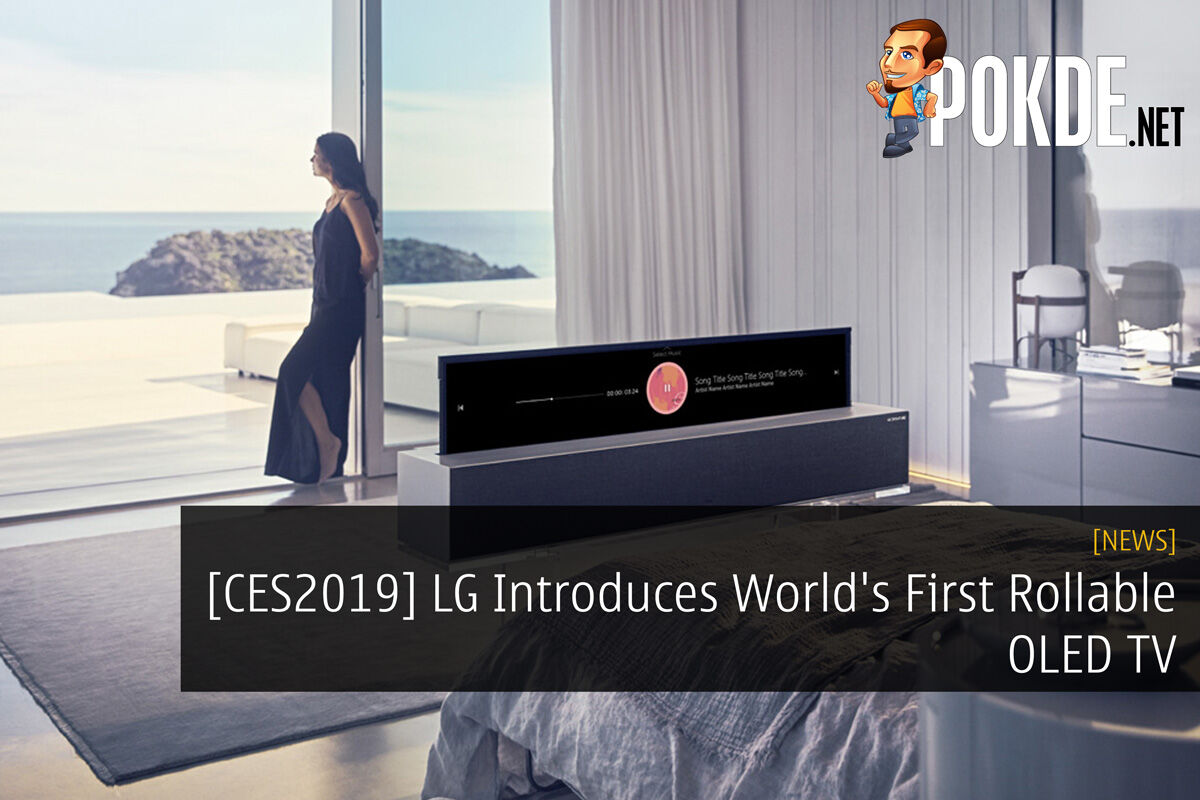 [CES2019] LG Introduces World's First Rollable OLED TV 27
