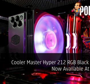 Cooler Master Hyper 212 RGB Black Edition Now Available At RM199 29
