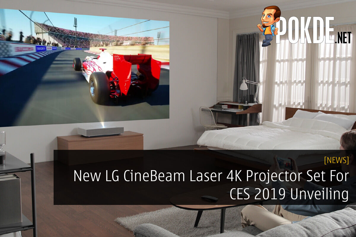 New LG CineBeam Laser 4K Projector Set For CES 2019 Unveiling 22