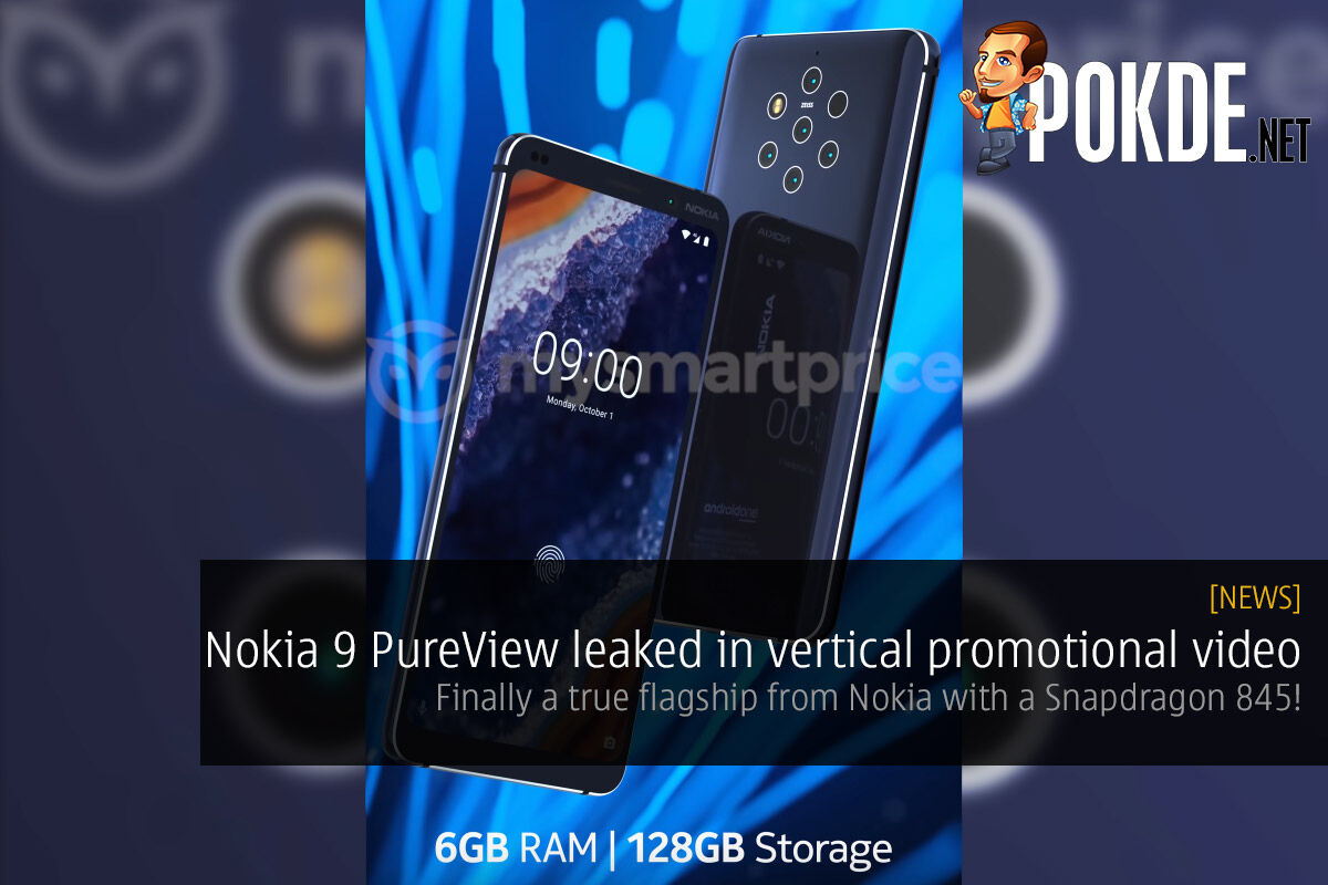 Nokia 9 PureView leaked in vertical promotional video — finally a true flagship from Nokia with a Snapdragon 845! 42