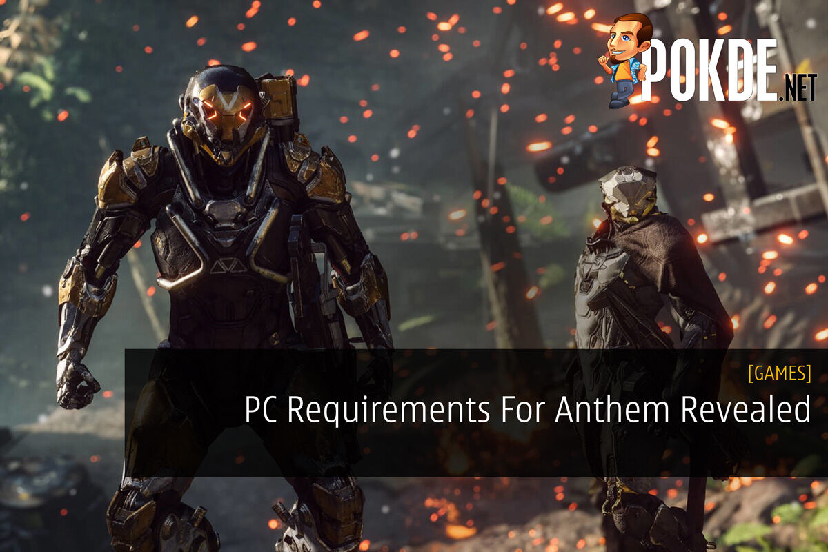 PC Requirements For Anthem Revealed 31